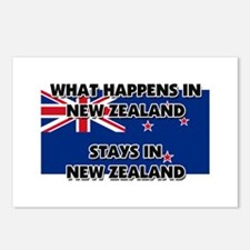 What Happens In NEW ZEALAND Stays There Postcards