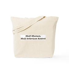 Half-American Kestrel Tote Bag