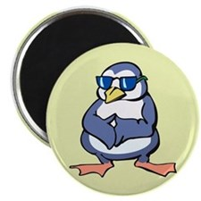 Penguin in Shades Magnet