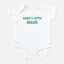 Daddys little Weasel Onesie