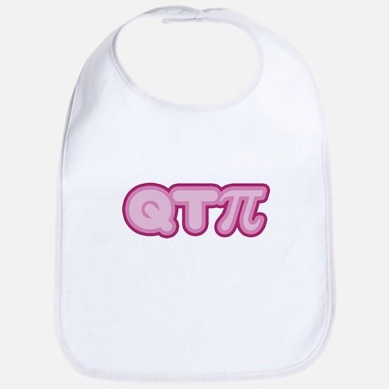 Q T Pi (pink) Bib