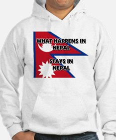 What Happens In NEPAL Stays There Hoodie