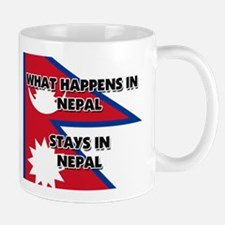What Happens In NEPAL Stays There Mug