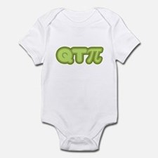 Q T Pi (green) Infant Bodysuit