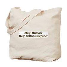 Half-Belted Kingfisher Tote Bag