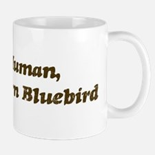 Half-Eastern Bluebird Mug