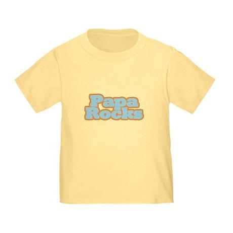 Papa Rocks Toddler T-Shirt