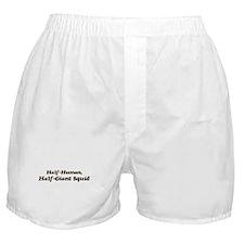 Half-Giant Squid Boxer Shorts