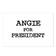 Angie for President Postcards (Package of 8)