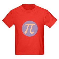 Pi Kids Red T-Shirt