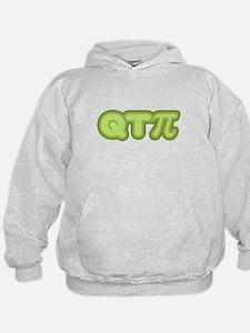 Q T Pi (green) Hoodie