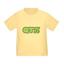 Q T Pi (green) T
