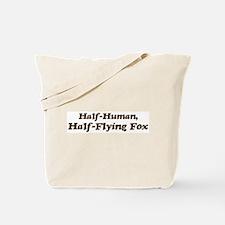 Half-Flying Fox Tote Bag