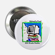 """PC & Books 6th Grade 2.25"""" Button"""