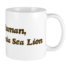 Half-California Sea Lion Mug