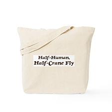 Half-Crane Fly Tote Bag