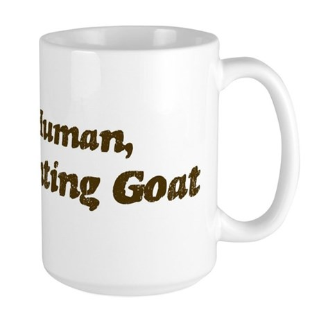 Half-Fainting Goat Large Mug