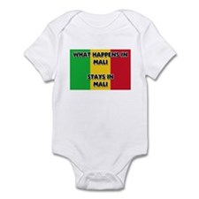 What Happens In MALI Stays There Infant Bodysuit