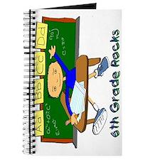 Student at Desk 6th Grade Journal