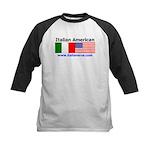 Italian American Kids Baseball Jersey