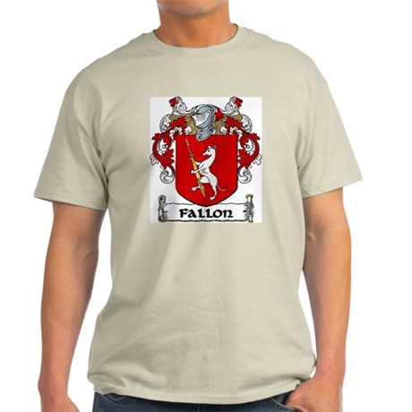 Fallon Coat of Arms Light T-Shirt