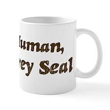 Half-Grey Seal Mug
