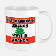 What Happens In LEBANON Stays There Small Small Mug
