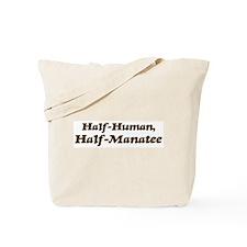 Half-Manatee Tote Bag