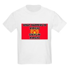 What Happens In KYRGYZ Stays There T-Shirt