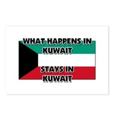 What Happens In KUWAIT Stays There Postcards (Pack