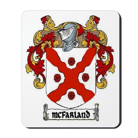 McFarland Coat of Arms Mousepad