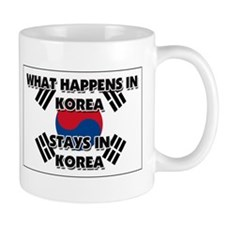 What Happens In KOREA Stays There Mug
