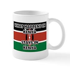 What Happens In KENYA Stays There Mug