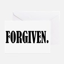 FORGIVEN. Greeting Cards (Pk of 10)