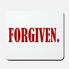 FORGIVEN. Mousepad