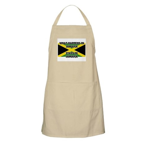 What Happens In JAMAICA Stays There BBQ Apron