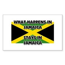 What Happens In JAMAICA Stays There Decal