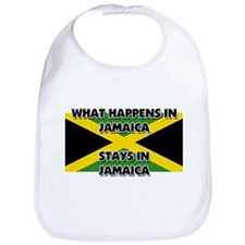 What Happens In JAMAICA Stays There Bib