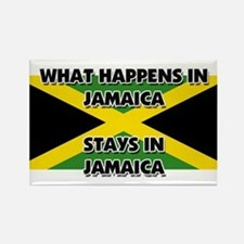 What Happens In JAMAICA Stays There Rectangle Magn