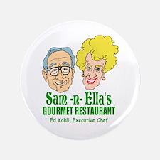 """Sam -n- Ella's (in color) 3.5"""" Button"""