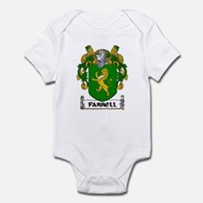 Farrell Coat of Arms Infant Creeper
