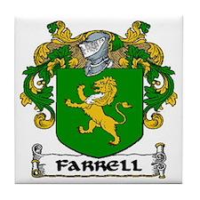 Farrell Coat of Arms Ceramic Tile