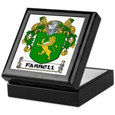 Farrell Coat of Arms Keepsake Box
