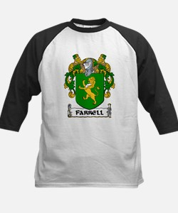 Farrell Coat of Arms Kids Baseball Jersey