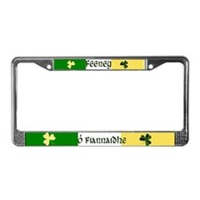 Feeney (In Gaelic & English) License Plate Frame