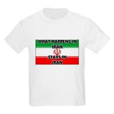 What Happens In IRAN Stays There T-Shirt