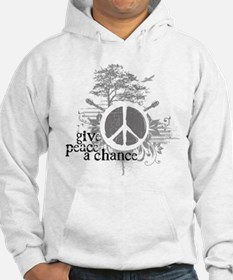 Give Peace Scene a Chance Hoodie