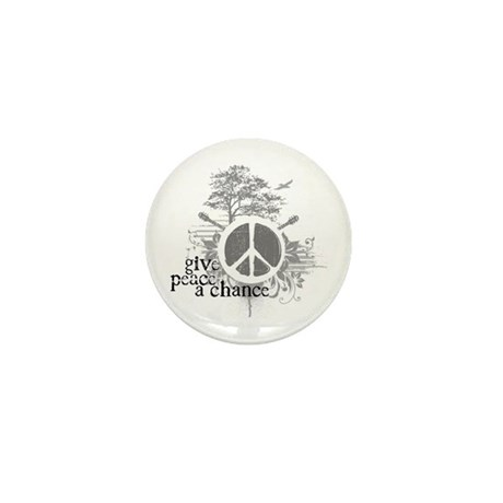 Give Peace Scene a Chance Mini Button (10 pack)