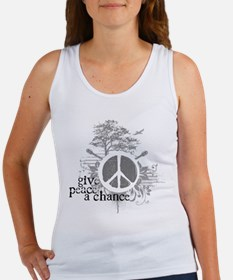Give Peace Scene a Chance Women's Tank Top
