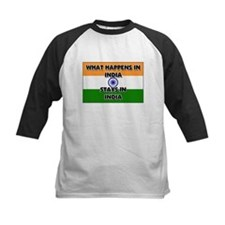 What Happens In INDIA Stays There Tee